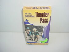 Thunder Pass VHS Video Tape Movie Dane Clark