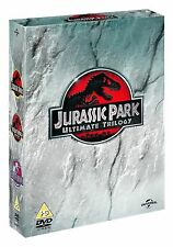 JURASSIC PARK Trilogy Complete Movie DVD Collection Boxset All Films Part 1+2+3