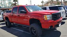 2007-2016 Chevy Silverado GMC SIERRA Crew Cab Drop Steps Nerf Bars Running Board