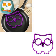 Gift Egg Owl Shaper Silicone Moulds Cooking Tools Christmas Supplies A1
