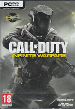 Call of Duty Infinite Warfare PC w/ Zombies and Terminal Map Brand New Sealed