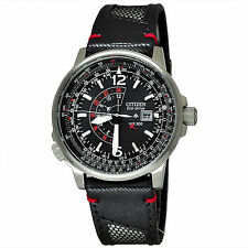 NEW MEN'S CITIZEN PROMASTER SOLAR ECO-DRIVE NIGHTHAWK 200M WATCH BJ7017-09E