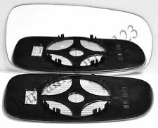 Right Driver Side Wing Mirror Glass CONVEX HEATED Saab 2003-2010