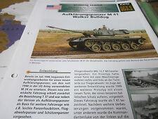 Archiv Militärfahrzeuge Panzer 3.1 M 41 Walker Bulldog USA Aufklärungspanzer