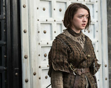 "Game Of Thrones Arya Maisie Williams 10"" x 8"" Glossy Photo Print"