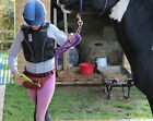 Real Leather Equestrian Horse Riding Waist bum Bag with option to Personalise