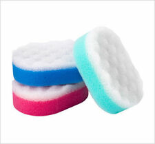 2 x 3 Pack Bath Shower Body Massage Bath Scrub Exfoliating Sponge New