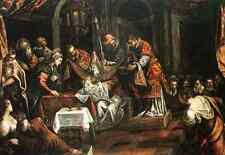 Tintoretto Tintoretto The Circumcision A4 Print