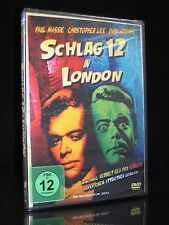 DVD SCHLAG 12 IN LONDON (zwölf) - Dr. Jekyll Mr. Hyde - CHRISTOPHER LEE * NEU *