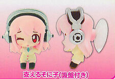 Super Sonico Mascot Suction Cup Figure Licensed NEW