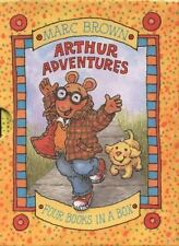 Arthur Adventures - 4 Miniature Books in a Box-ExLibrary