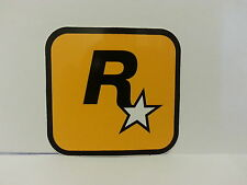 2x Brand New Original Rockstar Games Logo Sticker