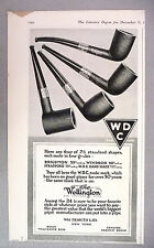 The Wellington Pipe PRINT AD - 1916 ~~ Wm. Demuth, Brighton, Windsor, Stratford