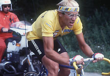 LAURENT FIGNON TEAM RENAULT ELF TOUR DE FRANCE 1984 MAILLOT JAUNE POSTER