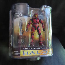 Halo 3-Series 1-Spartan Soldier Mk VI (Red)-5 Inch Action Figure