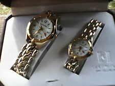 Calvin Hill Man & Woman Wrist Watch Set