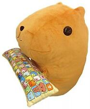 New Capybara PC cushion Plush Doll Cute Kawaii Bandai Stuffed Toy