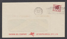 South Africa Sc 201, 1p red brown Gnu 1958 Vacuum Oil Company FIGHT CANCER