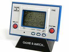 Nintendo Game & Watch Silver Series Fire RC-04 MIj 1980 Good Condition_55