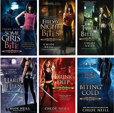 Chicagoland Vampires Collection Set 1-6 Fantasy Fiction Romance Books Series NEW