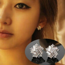 Vogue Windmill New Vintage Fashion Ear Stud Silver Plated Earrings Jewelry