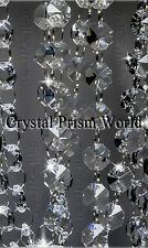 36ft Crystal Garland Chain Strands For Chandeliers, Weddings, Home Decor | New