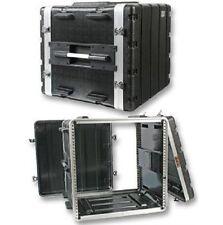 """Stackable ABS 19"""" Rack Flight Case - 10RU"""