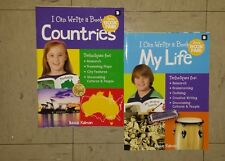 I Can Write A Book Countries And My Life By: Bobbie Kalman Set Of 2 Books