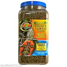 ZOO MED NATURAL AQUATIC TURTLE FOOD - GROWTH 1.53KG - NOW BACK IN STOCK