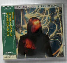 KIRSTY MACCOLL - Titanic Days JAPAN CD OBI WMC5-693 RAR!