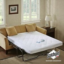 Sleep Philosophy Holden Waterproof Sofa Bed Pad W/3M Moisture Management, Queen