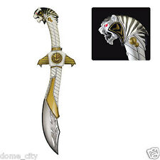 Mighty Morphin Power Rangers White Ranger Legacy Saba Die-Cast Sword Replica