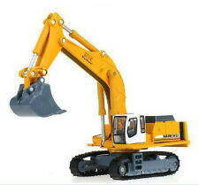 KDW 1:87 Scale Diecast Crawler Excavator Construction Vehicle Car Models XW