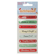 Helz Cuppleditch Santa Claus's Workshop Sentiment Toppers