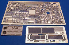 T-55 A RUSSIAN TANK PHOTO-ETCHED DETAIL SET to TAMIYA TRUMPETER #35128 1/35 ABER