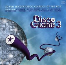 Vol. 3-Disco Giants - Disco Giants (2008, CD NIEUW)2 DISC SET