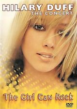 Hilary Duff ~ The Concert ~ The Girl Can Rock ~ DVD with Poster ~ FREE Shipping