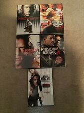 "Prison Break Seasons 1-4 Plus The Final Break ""NEW"" DVD"