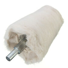 2'' Cone Tapered Rotary Weave Cotton Polishing Buffing Wheel 1/4'' Shank Brush