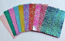 10 A4 Sheets Chinese Rainbow Shimmery Paper