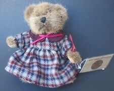 rb1 LINDSEY 44704 Russ Berrie Teddy Bear limited vintage edition plush nwt