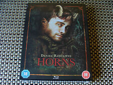 Blu Steel 4 U: Horns : Limited Edition Steelbook & UV Sealed : Daniel Radcliffe