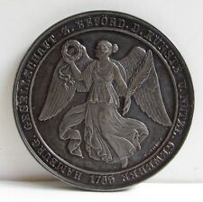 1765 Hamburg Germany 990 Silver STERLING Coin Original Box Artist Medal 1910