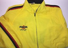 Vintage Pennzoil Racing Jacket Size Medium Gas Oil Collectibles