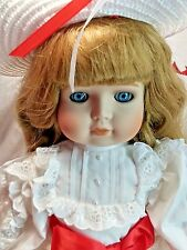 "Victoria Ashlea Bette Ball LE 313 / 1000 Valerie 19"" Musical Porcelain Doll MIB"
