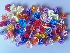 Quilling Quilled Paper Mixed lot of Handmade Roses Scrapbooking & Card Making *