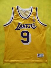 4.6/5 LOS ANGELES LAKERS #9 VAN EXEL BASKETBALL NBA CHAMPION JERSEY SIZE XL