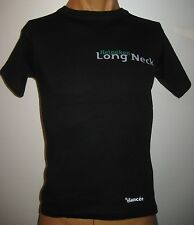 ★ HEINEKEN ★ T Shirt LONG NECK -  NOIR - Neuf  For Girl Taille Unique