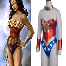 Sexy Adult Justice League Wonder Woman Women's Jumpsuits Cosplay Costume