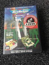 Micro Machines Military  Mega Drive  Boxed  PAL